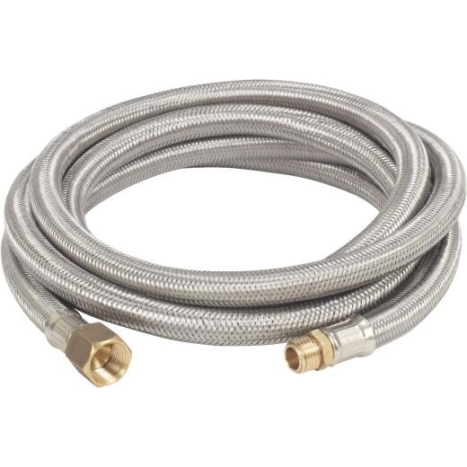Bayou Classic 10 Ft. 3/8 In. Stainless Steel LP Hose