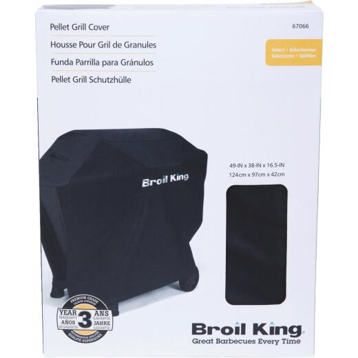 Broil King Baron Pellet 500 49 In. Black Grill Cover
