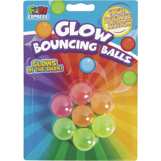 Fun Express Assorted Color 1 In. Ea. Rubber Bouncing Ball