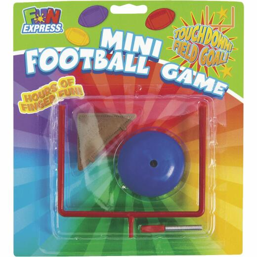 Fun Express Multi-Colored Plastic 3 & Over Table Top Football Game
