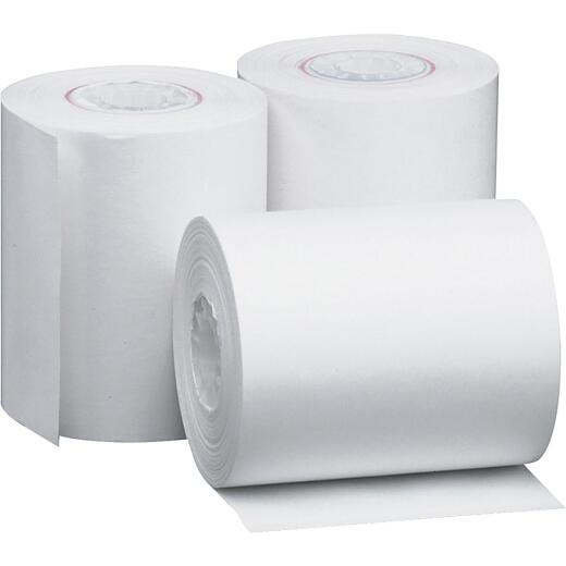 PM 2-1/4 In. x 85 Ft. White Thermal Calculator Paper Roll (3-Pack)