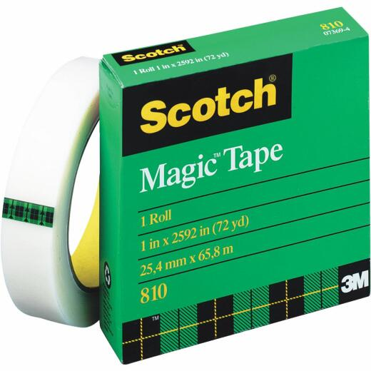 3M Scotch 1 In. x 864 Yd. Magic Transparent Tape Refill